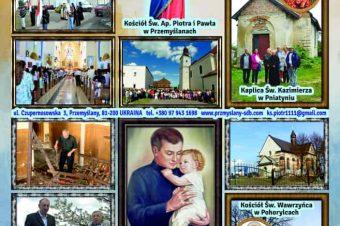Kościoły i kaplice parafii w Przemyślanach – 2021