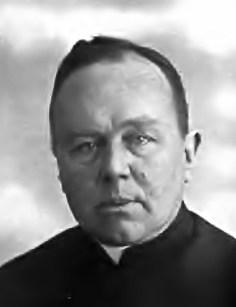 ks Piotr Struszkiewicz - Proboszcz parafii Przemyślany 1934 - 1945