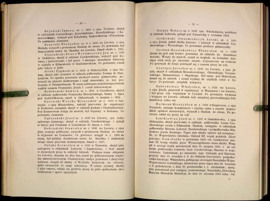 zygmunt bilski w Księdze pamiątkowej półwiekowego jubileuszu Gimnazyum - Białynia-Chołodecki